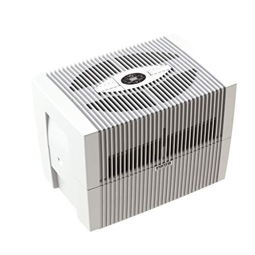 Venta COMFORTPlus Luftwäscher LW45, Luftbefeuchtung und Luftreinigung (bis 10 µm Partikel) für Räume bis 60 qm, Brillantweiß, mit digitaler Steuerung