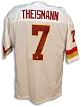 Autographed Joe Theismann Washington Redskins Throwback White Jersey inscribed 'SB XVII Champs' - COA Included Signature