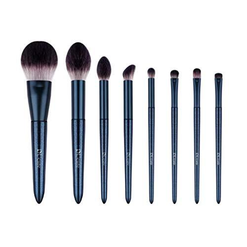 Beauté Pinceau De Maquillage Professionnel, Outils De Beauté De Maquillage De Fard À Joues De Blush De Fondation De Bule Foundation Ensemble Complet d'outils