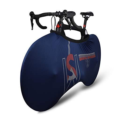 LuTuo - Copriruota per bicicletta, per interni, anti-polvere, con elastico elevato, antigraffio, protezione per garage per mountain bike, bici da strada MTB (F-L)