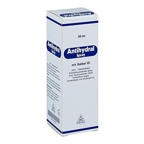 Antihydral Spray mit Salbei-Öl anti-transpirant, 30 ml Lösung