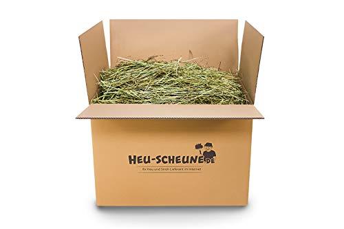 Timothy-Heu der Heu-Scheune® rohfaserreich Wiesenlieschgras für Kaninchen Meerschweinchen Pferde Hasen (10kg)