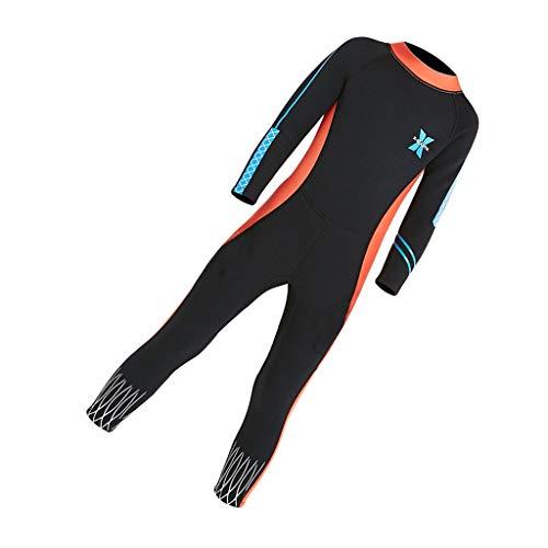 Toygogo Neoprenanzug Mädchen, Schwimmanzug, Tauchanzug, Kinder Neopren-Anzug 2,5mm für Schnorcheln Tauchen Schwimmen - S.