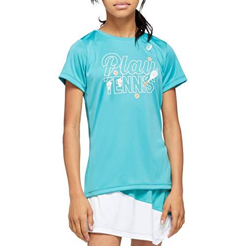 ASICS Tennis G Kids GPX T, T-Shirt Bambino Unisex, Techno Cyan, Small
