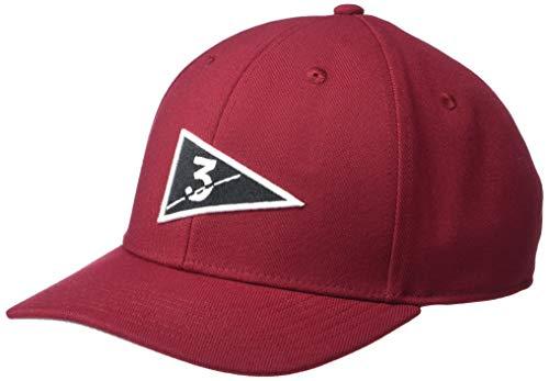 adidas Sombrero de Bandera para Hombre, Hombre, Gorro/Sombrero, TXM1205S20, borgoña, Talla única