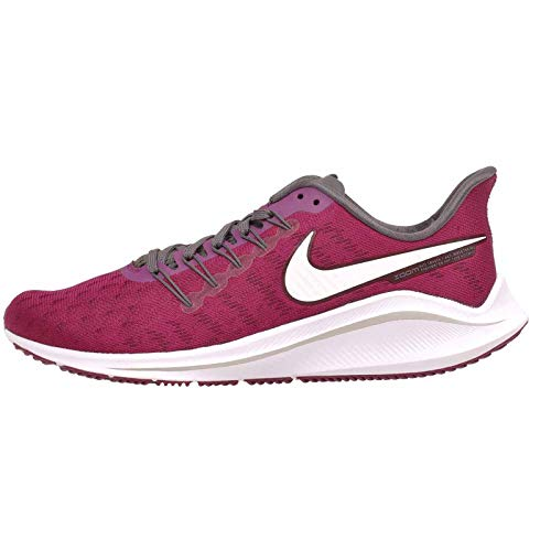 Nike Women's Wmns Air Zoom Vomero 14 Running Shoes, Multicolour (True Berry/White/Thunder Grey/Teal Tint 600), 7 UK