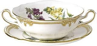 Spode Stafford Flowers Cream Soup and Saucer