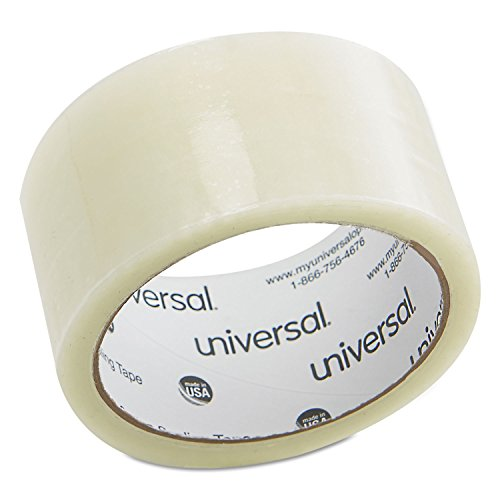 "Universal General-Purpose Box Sealing Tapes, Clear, Approx 2""w x 55 yds. $1.39 @ Amazon"