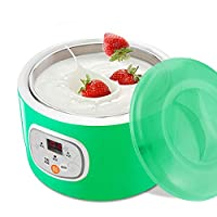 Ce fabricant yogourt est un outil de cuisson pratique et pratique pour faire de délicieux yogourt .. Facile à utiliser, la machine automatique vous permet de faire du yaourt facilement. Vous pouvez profiter du yaourt sain et nutritif, même à la maiso...