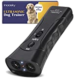 Inoosky Dog Bark Stopper, Dog Training and Barking Control Device, Ultrasonic Training Equipment - Dog Barking Deterrent, Handheld Ultrasonic Dog Trainer