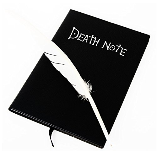 Switchali Death Note Notebook & Feather Pen Book Japan Anime Writing Journal New