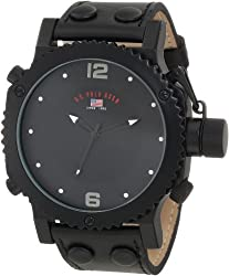 U.S. Polo Assn. Classic Men's Black Analog Watch, Specially Design For You, Men's Analog Watch