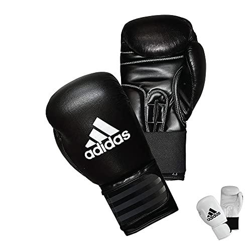 adidas Performer Boxing Gloves - 16 oz. - Black/White