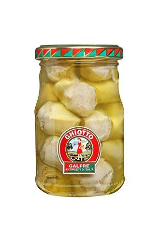 Galfrè Antipasti d'Italia - Sonder Delicacies Olivenöl - Flasche - Artischocken gr. 190 - Italienisch Artisan Produkt
