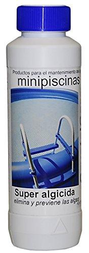 CrystalCare Algicida Súper Especial para minipiscinas. Botella 500 ML.