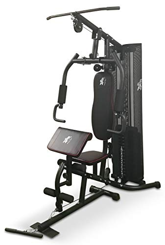 Fit4Home 7080A (68 KG) Multi Gym Home Gym Equipment Workout Station Home Workout… (Gunmetal Black)