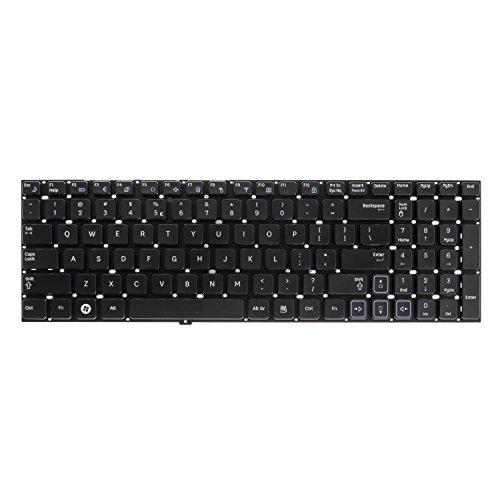 Green Cell® Tastiera per PC Portatile Samsung NP-RC530-S06IT (Schema: QWERTY US English | Colore: Nero)