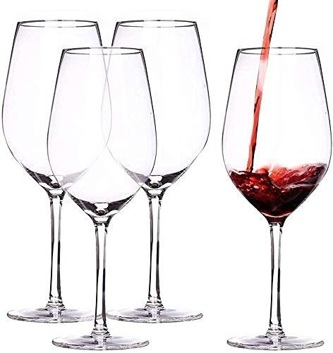 Kristallen wijnglazen loodvrij