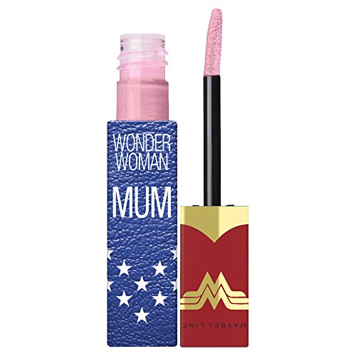 Maybelline New York Collezione Wonder Woman Vivid Matte Liquid Rossetto Liquido Edizione Limitata, Mum - 5 Nude Flush