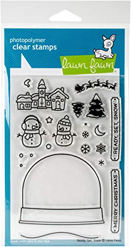 Lawn Fawn Clear Stamps - Ready, Set, Snow (LF973) |