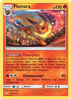 Pokemon TCG - Flamara - 025/236 - Welten...