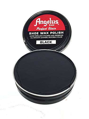Angelus Shoe Wax Polish 3fl Oz (Color Variety) (Black)