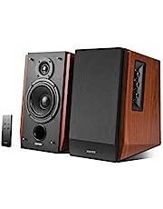 Edifier R1700BT Bluetooth スピーカー RMS AUX リアル 豊かな低音 クリアな高音 デザイン 上品 高音質 セット セットアップ 木製 クラシック - ウッド