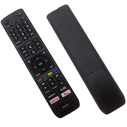 Replacement Hisense Remote Control EN3G39 for All Hisense Smart LED LCD TV - No Setup Needed