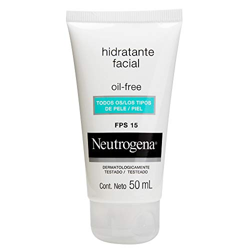 Gel Creme Hidratante Facial Oil Free FPS15, Neutrogena, 50ml