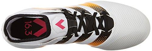 adidas Performance Women's Ace 16.3 Primemesh FG/AG W Soccer Shoe,White/Gold/Shock Pink,9 M US