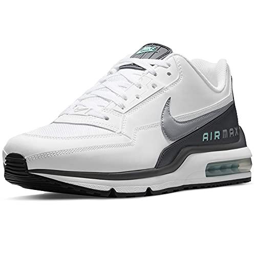 Nike Air MAX Ltd 2, Zapatillas para Correr Hombre, White LT Smoke Grey Iron Grey Tropical Twist Black, 42.5 EU