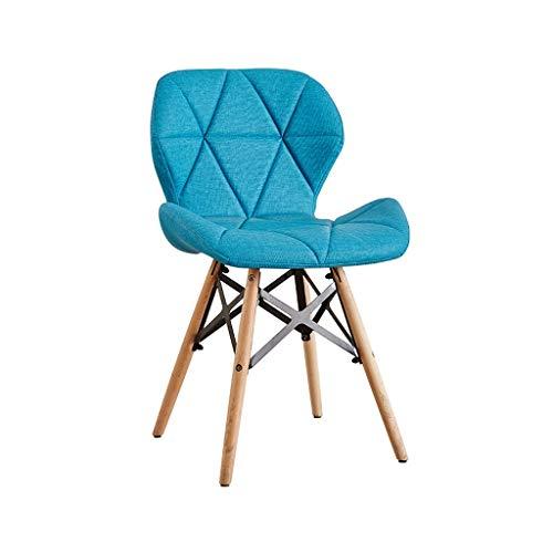 Salle à manger Chaise Tabouret de bar Restaurant Table à manger Chaise Loisirs Dossier Chaise Chaise de bureau à domicile Coiffeuse Comptoir Chaise d'ordinateur (Couleur : J)