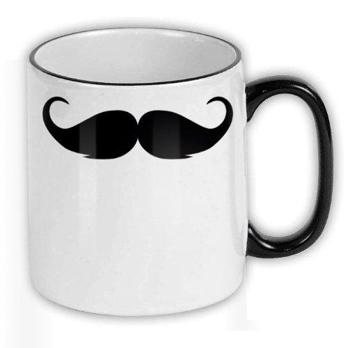 FunTasstic Tasse Schnurrbart Kaffee-Pott (T122)