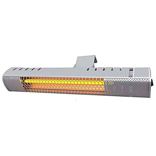 Calentador Exterior eléctrico de pie, Calentador Interior infrarrojo, Calentador de baño Impermeable, protección contra sobrecalentamiento integrada, B, B