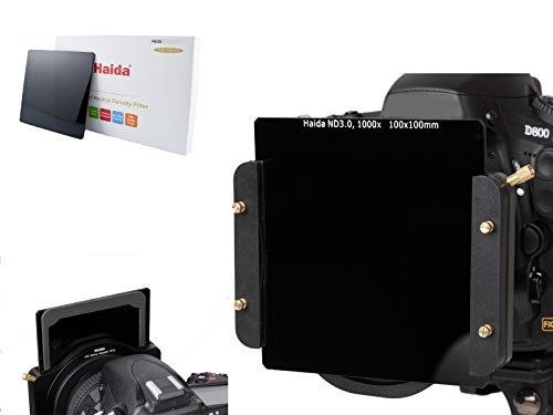 Haida Filtro Neutro de Cristal óptico 100 Cokin Z de la Densidad del ND de 100m m ND1000 Compatible