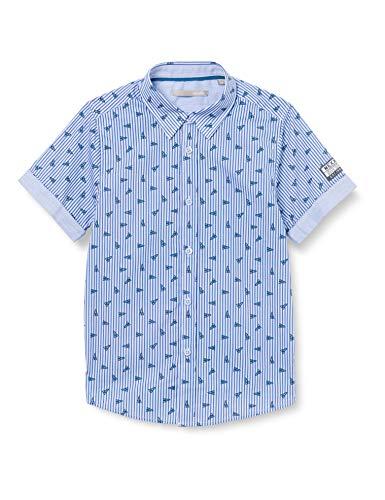 Mexx Jungen 952115 Hemd, Mehrfarbig (Allover Print 318803), (Herstellergröße: 110)
