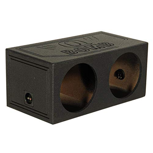 Qpower QBomb 15 Inch Dual Sealed Car Audio Subwoofer Sub Box Enclosure QBOMB15S Missouri