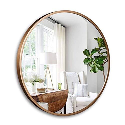 ZHAOJYZ Household badkamerspiegel cosmeticaspiegel badkamerspiegel hygiënische wandspiegel hangende grote spiegel rond decoratief