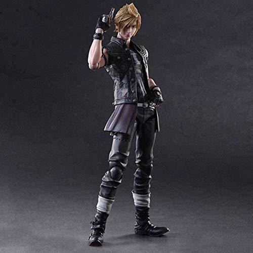 Mdcgok Final Fantasy XV Figur - Prompto Argentum Atcion Figur PA Kai Collection Figur - Ausgestattet mit Waffen und austauschbaren Händen 11
