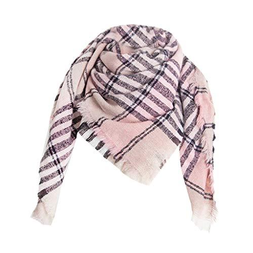 PLOT Schals für Damen Stolen Poncho Modische Kariert Cape Winterschal Umschlagtücher Winter Warm Tücher Pashminas Stola Herbstschal