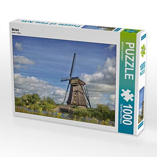 Molen 1000 Teile Puzzle quer