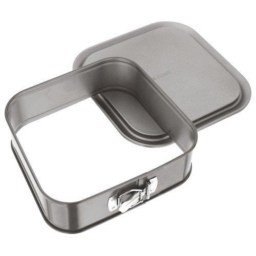 Judge JB51 Non-Stick Square 9' Cake Tin Springform, Dishwasher Safe 23cm x 23cm x 7cm - 5 Year...