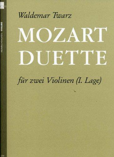 Mozart Duette. Violine