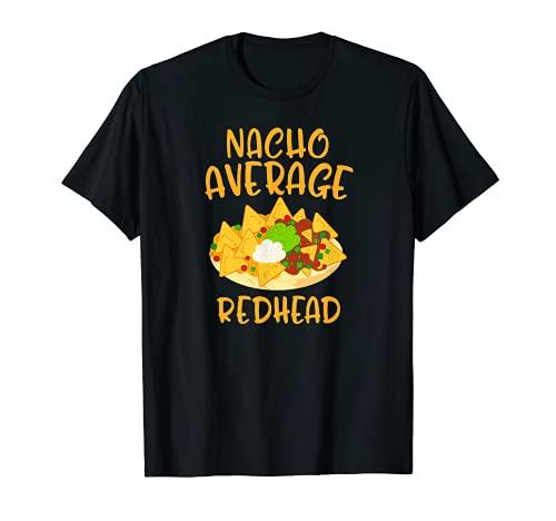 Cinco De Mayo Nacho Promedio Pelirroja Mexicana Fiesta Regalo Camiseta