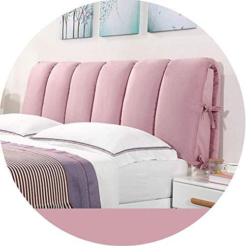 Lendenkussen voor bed, rugkussen voor bed, groot rugkussen, matrasbeschermer gemaakt van zachte stof, eenvoudig en modern LEBAO (kleur: B, afmetingen: lengte 120 cm, hoogte 60 cm) Length 150*Height 50cm 9
