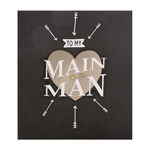 Hallmark - Tarjeta de San Valentín para hombre principal, diseño con efecto 3D