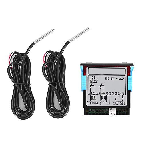 Controlador Calentador Solar - Interruptor Termostato Solar - Controlador Temperatura Diferencial for Agua Caliente Solar