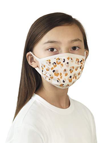 TOM TAILOR Herren Accessoire wiederverwendbare Stoffmaske Off White,ONESIZE