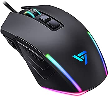 Vic Tech FL 8000 DPI Optical Wired Gaming Mouse
