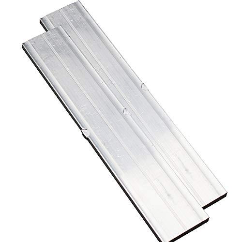 2er-Set Einschub-Profilverbinder 200 x 36,5 x 6,24 mm für Trägerprofil